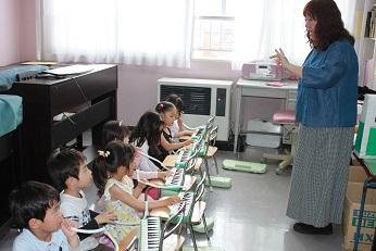 Music lesson♪
